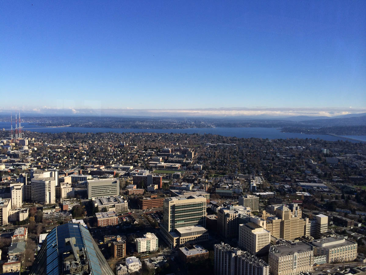 Sky View Observatory at Columbia Center - Mon Petit Seattle
